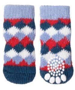 """Носки для собак """"Ромбы"""", размер L, 3,5*9см"""