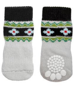 """Носки для собак """"Цветы"""", размер M, 3*7,5см"""