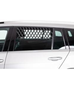 Решётка вентиляционная на окно машины 30–110см, чёрная (13102)