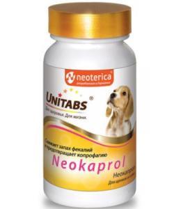 Кормовая добавка Neokaprol для снижения запаха фекалий у щенков и собак и предотвращения копрофагии, 100 таб.