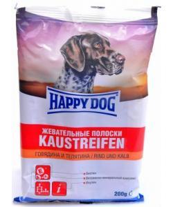 Полоски жевательные для собак,  говядина и телятина