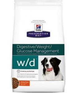 W/D для Собак Лечение сахарного диабета, запоров, колитов (Low Fat/Diabet)