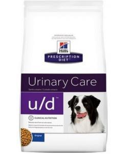 U/D для собак Лечение мочекаменной болезни (Оксалаты, ураты) и почек
