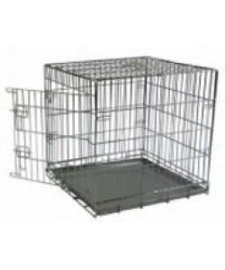 Клетка металлическая с 1 дверкой, (Wire cage 1 door)