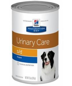 Консервы S/D для собак - Лечение заболеваний мочевыводящих путей
