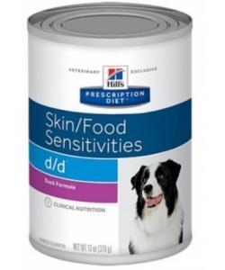 Консервы D/D с уткой и рисом  для собак с пищевой аллергией