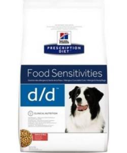 D/D Лосось&рис: Лечение пищевых аллергий и непереносимости (Salmon&Rice)