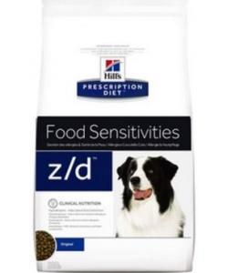 Z/D Food Sensitivities Сухой корм для собак Лечение острых пищевых аллергий