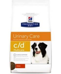 C/D для собак Лечение мочекаменной болезни, струвиты (Urinary)