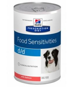 Консервы D/D с лососем и рисом для собак с пищевой аллергией