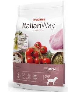 Беззерновой корм для собак с чувствительным пищеварением с уткой (ITALIAN WAY MED SENSITIVE DUCK)