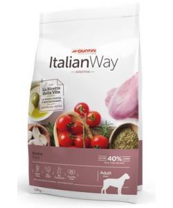 Беззерновой корм для собак крупных пород с чувствительным пищеварением с уткой (ITALIAN WAY MAXI SENSITIVE DUCK)