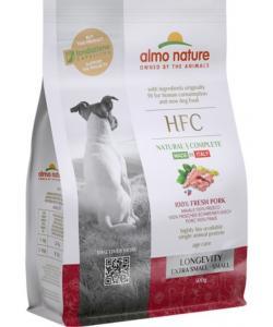 Корм для взрослых и пожилых собак карликовых и мелких пород со свежей свининой (45% мяса)