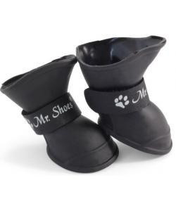 """Сапожки резиновые """"Mr.Shoes"""" для собак, черные 4 шт. размер S (YXS203)"""