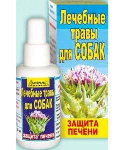 """Настойка лечебных трав """"Защита печени"""" для собак"""
