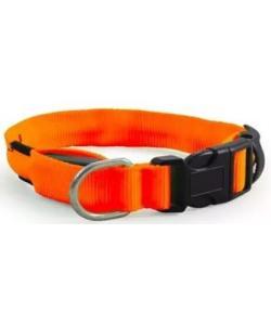 Светодиодный ошейник оранжевый,2,5*51-61 см (LD05 XL)
