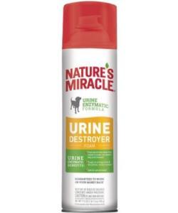 Аэрозоль-уничтожитель пятен и запахов от мочи собак (Dog Urine Destroyer Foam)