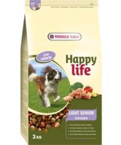 Для пожилых собак с курицей, контроль веса (Happy life Light Senior Chicken)