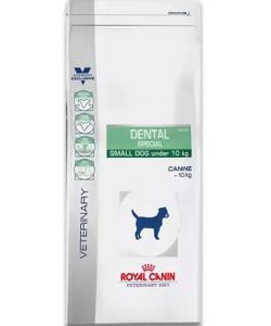 Корм для собак до 10 кг для гигиены полости рта и чистки зубов (Dental Special Small)