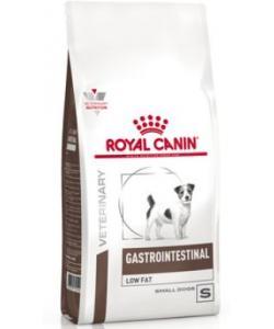 Для взрослых собак малых пород  при нарушениях пищеварения Gastrointestinal Low Fat Small Dog