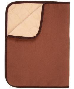 Пеленка МНОГОРАЗОВАЯ впитывающая для животных, коричневая, 40*60 см