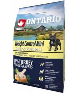 Для собак малых пород Контроль веса с индейкой и картофелем Mini Weight Control Turkey & Potatoes