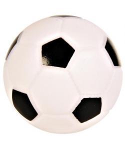 Игрушка для собак. Мяч футбольный, винил, 10 см  (3436)
