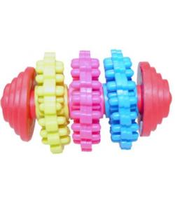 Игрушка для собак Dental регби, термопластик 7см