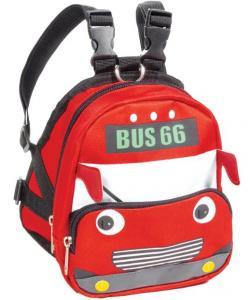 "Рюкзак-шлейка MINI DOGS для собак мелких пород ""Автобус"" М, 17*15*17см, обхват груди 45-55см"