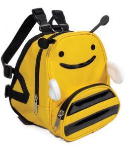 """Рюкзак-шлейка MINI DOGS для собак мелких пород """"Пчелка"""" S, 14*12*16см, обхват груди 40-50см"""