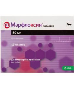 Марфлоксин, противобактериальное средство таб., 80 мг №12