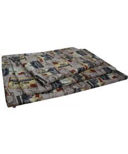 Матрац со съемным чехлом мебельная ткань