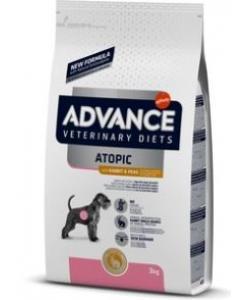 Беззерновой корм для собак при дерматозах и аллергии, с кроликом, Atopic No Grain
