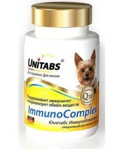 ImmunoComplex Витамины с Q10 для собак мелких пород, 100 таб.