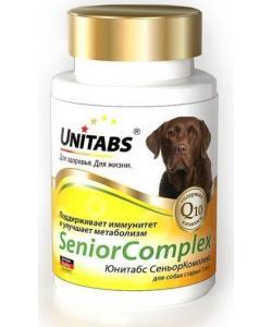 SeniorComplex Витамины для собак старше 7 лет, 100 таб.