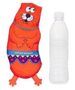"""Игрушка для собак """"Тетя кошка"""" под бутылку 0,5л"""