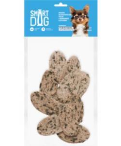 Лакомство для собак Крекеры из атлантической трески с ламинарией и отрубями