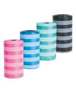 Пакеты для уборки за животными, цветные 3 л, 4 рулона по 20 шт. (22840)