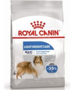 Для собак крупных пород, предрасположенных к избыточному весу Maxi Light Weight Care