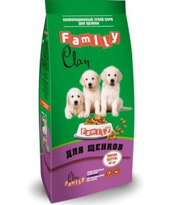 Clan Family сухой корм для щенков всех пород (с курицей)