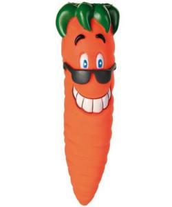"""Игрушка для собак. """"Морковь"""" 20 см, ,винил (3398)"""