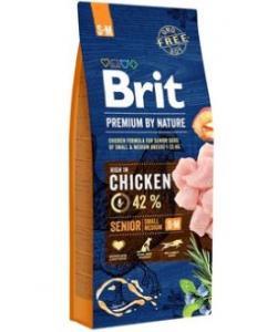 Premium Корм для пожилых собак мелких и средних пород с курицей