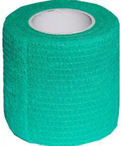 Бинт самофиксирующийся 5см х 450см Зеленый