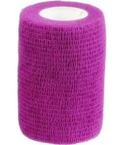 Бинт самофиксирующийся 7,5см х 450см Фиолетовый