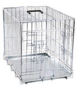 Клетка для собак  2 двери