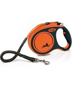 Рулетка-ремень для активных собак с усиленным поводком и регулируемой ручкой, 5 м, до 65 кг (Xtreme L)