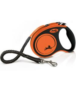 Рулетка-ремень для активных собак с усиленным поводком, 5 м, до 20 кг (Xtreme S)