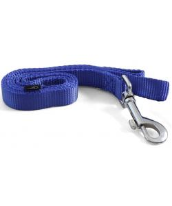 Поводок синий из нейлона, 1,5*120 см (HL10S)