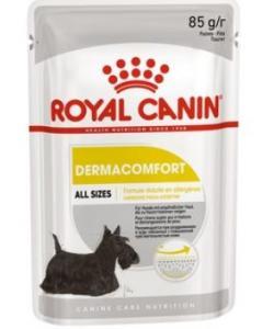 Паштет для собак с чувствительной кожей, склонной к раздражениям и зуду Dermacomfort Pouch Loaf