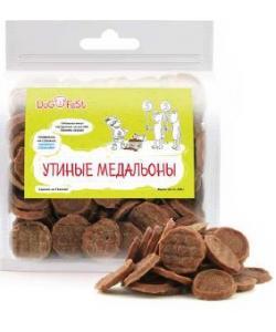 Лакомство для собак Утиные медальоны
